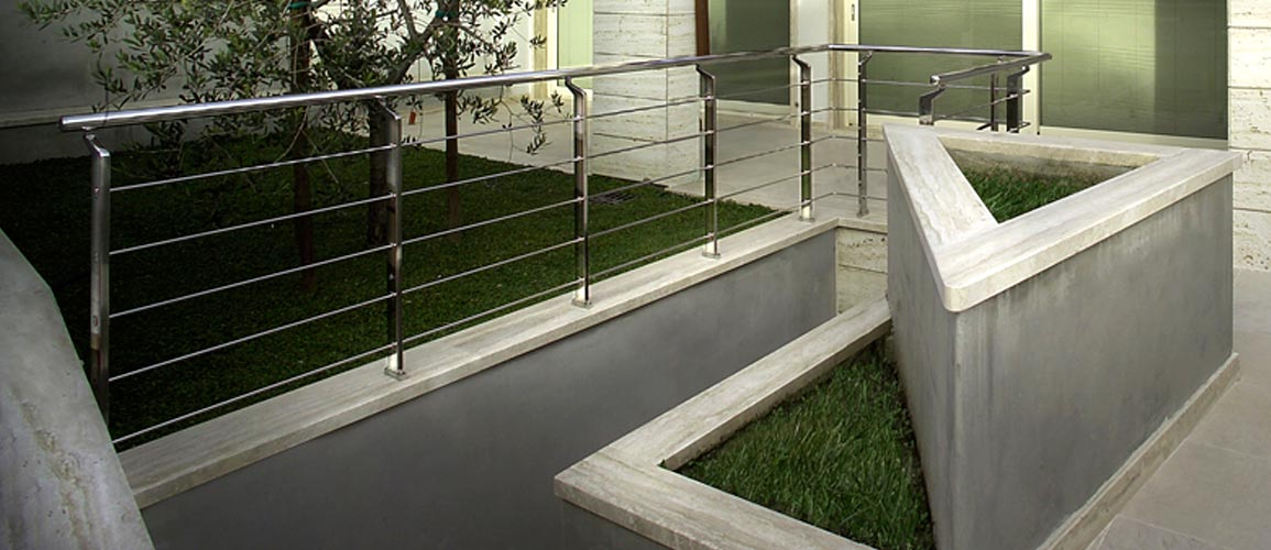 Venta de barandas de aluminio y acero inoxidable en tarragona salou y torredembarra - Barandas de terrazas ...